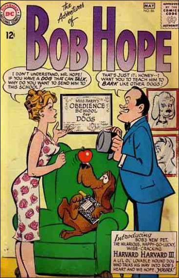 Adventures of Bob Hope 86-A by DC
