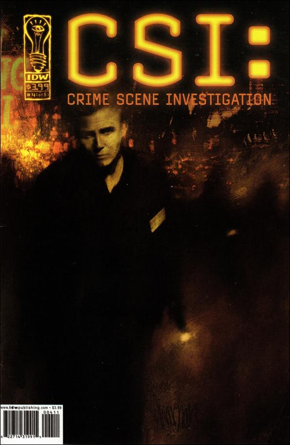 CSI: Crime Scene Investigation 4-A by IDW