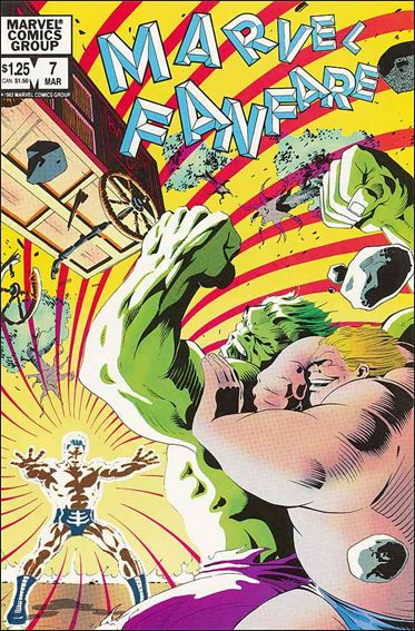 Marvel Fanfare (1982) 7-A by Marvel