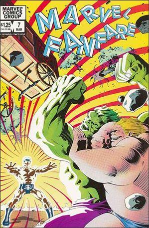 Marvel Fanfare (1982) 7-A