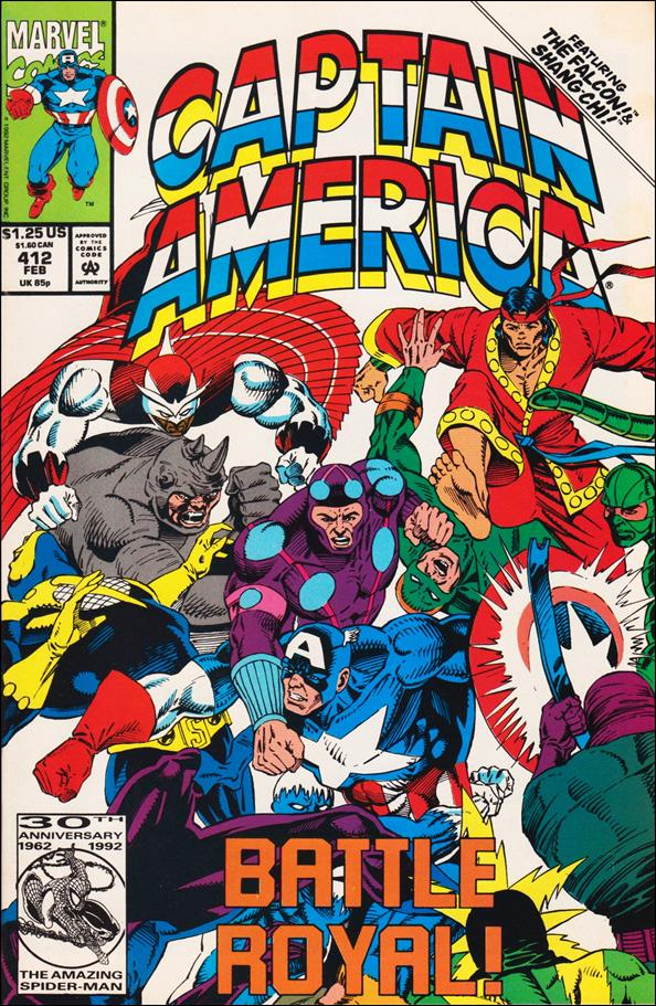 Captain America (1968) 412-A by Marvel