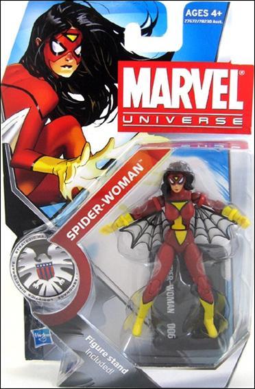 Marvel Universe (Series 3) Spider-Woman (Jessica Drew) by Hasbro