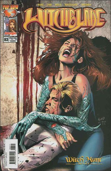 Witchblade 83-A by Top Cow