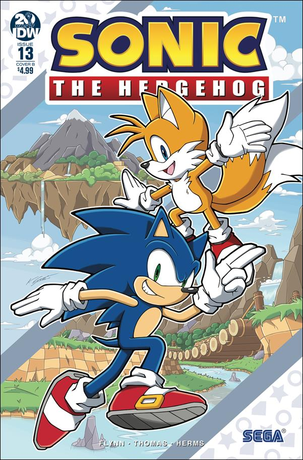 Sonic the Hedgehog (2018) 13-B by IDW