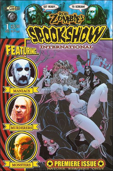 Rob Zombie's Spookshow International 1-A by MVCreations