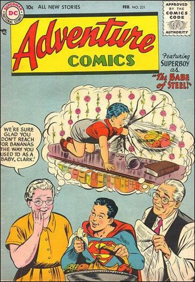 Adventure Comics (1938) 221-A by DC