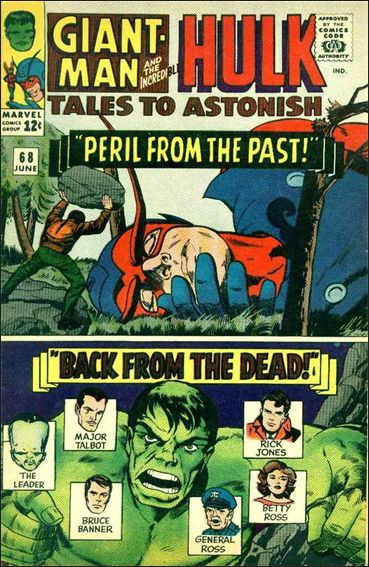 Tales to Astonish (1959) 68-A by Marvel