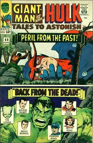 Tales to Astonish (1959) 68-A