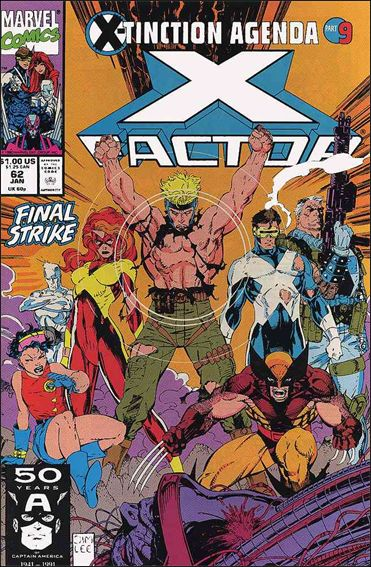 X-Factor (1986) 62-A by Marvel