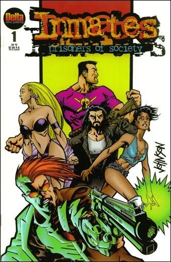 Inmates: Prisoners of Society 1-A by Delta Comics Publishing