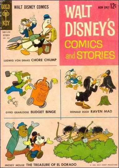 Walt Disney's Comics and Stories (1940) 265-A by Dell