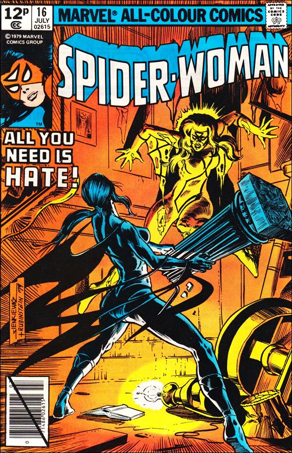 Spider-Woman (1978) 16-B by Marvel