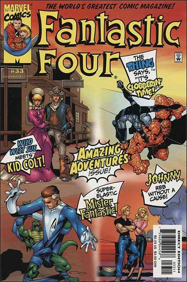 Fantastic Four (1998) 33-A by Marvel