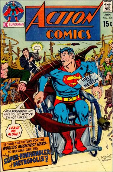 Action Comics (1938) 396-A by DC