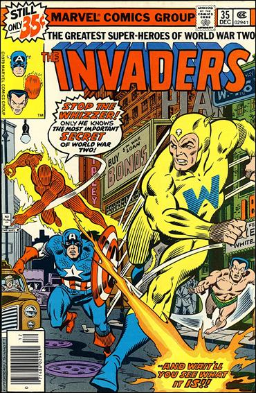 Invaders (1975) 35-A by Marvel