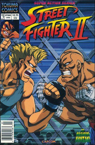 Street Fighter II (1994) 6-A by Tokuma Comics