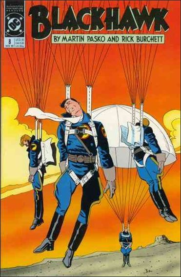 Blackhawk (1989)  8-A by DC