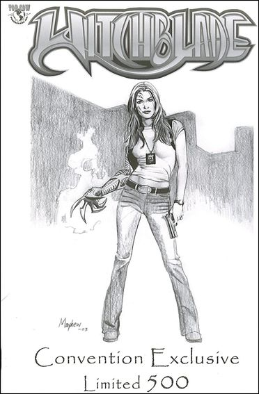 Witchblade 61-C by Top Cow
