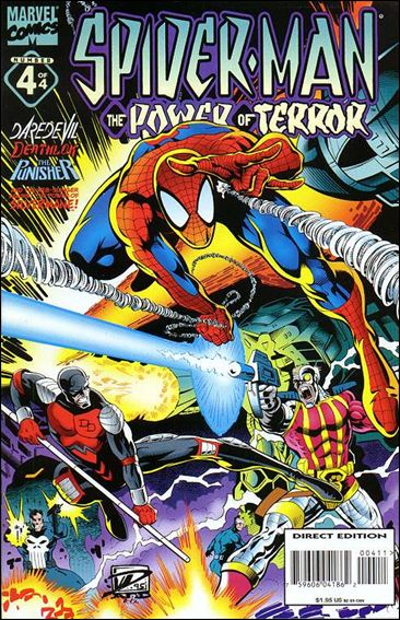 Spider-Man: The Power of Terror 4-A by Marvel