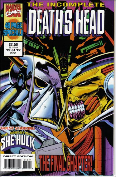 Incomplete Death's Head (UK) 12-A by Marvel UK