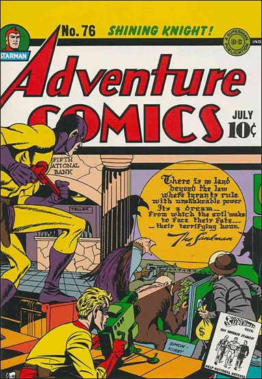 Adventure Comics (1938) 76-A by DC