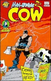 Man-Eating Cow 4-A by New England Comics Press (NEC / NECP)