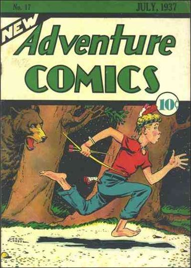 New Adventure Comics 17-A by DC