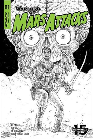 Warlord of Mars Attacks 1-H