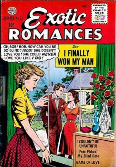 Exotic Romances 22-A by Comic Magazines