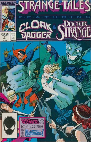 Strange Tales (1987) 7-A by Marvel