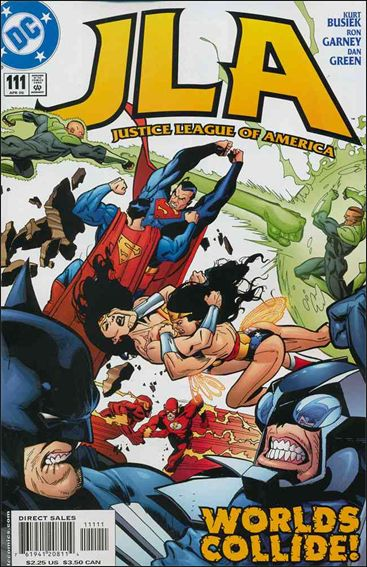 JLA 111-A by DC