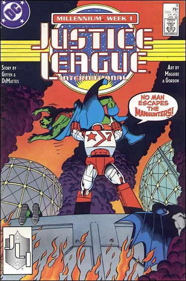 Justice League International (1987) 9-A by DC