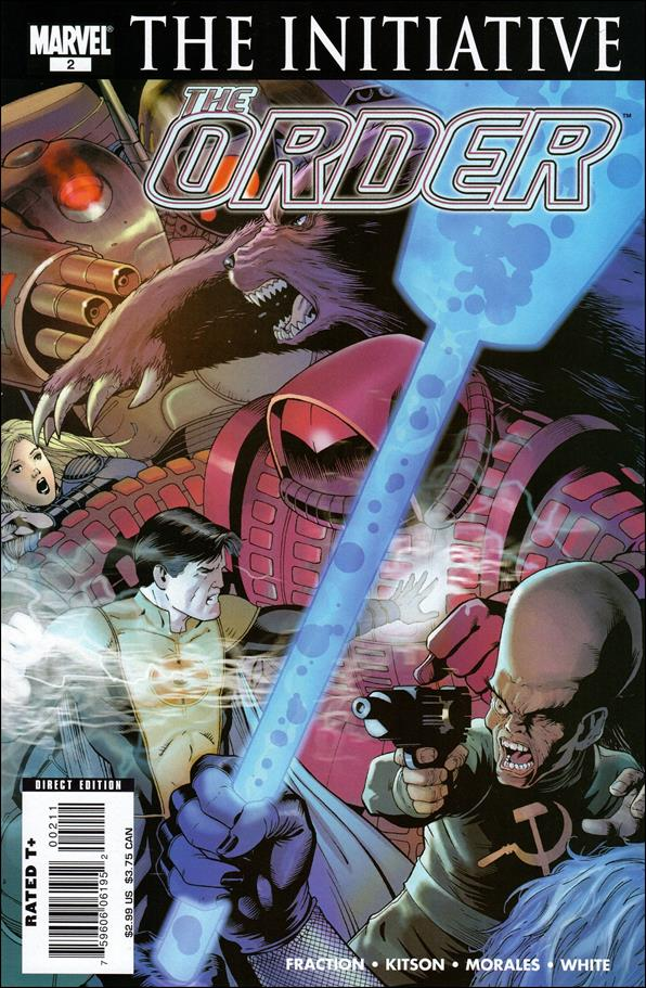 Order (2007) 2-A by Marvel