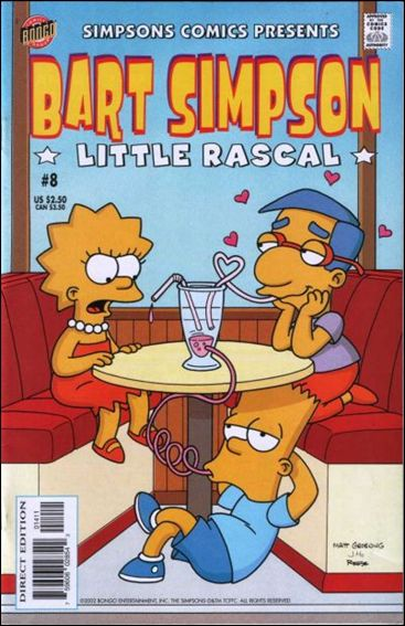 Simpsons Comics Presents Bart Simpson 8-A by Bongo