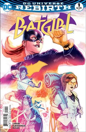 Batgirl (2016) 1-A