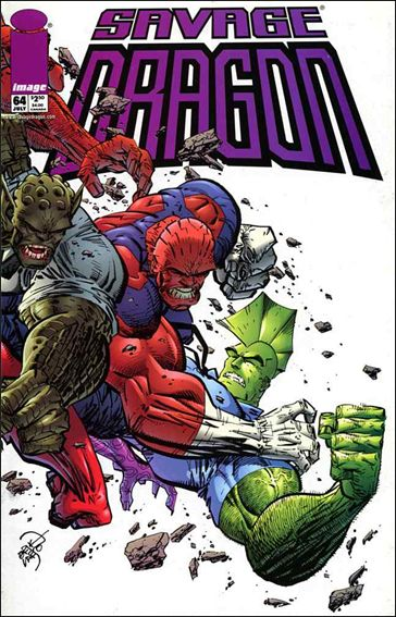 Savage Dragon (1993) 64-A by Image