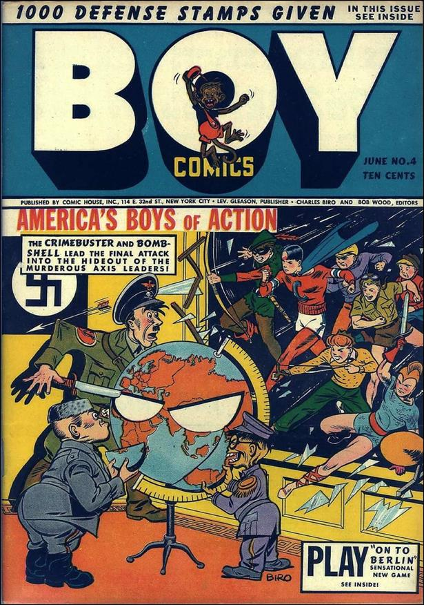 Boy Comics 4-A by Lev Gleason Productions