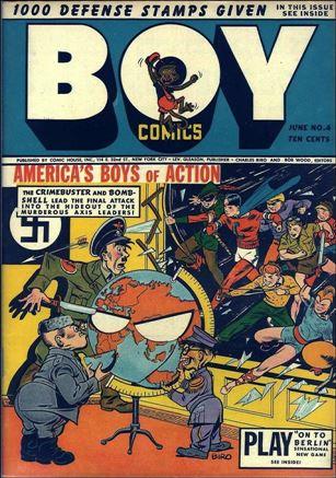 Boy Comics 4-A