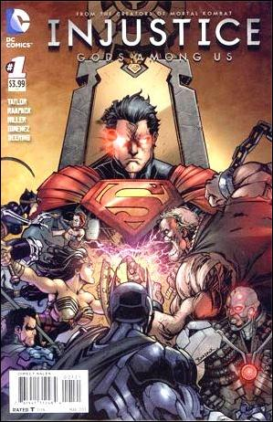 Injustice: Gods Among Us 1-B by DC
