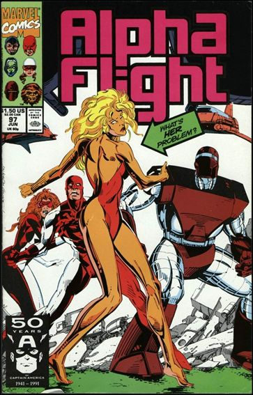 Alpha Flight (1983) 97-A by Marvel