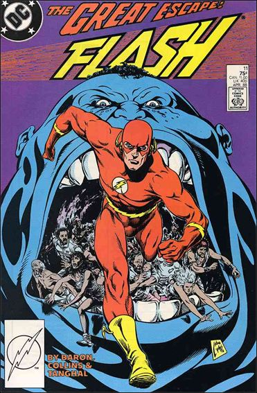 Flash (1987) 11-A by DC