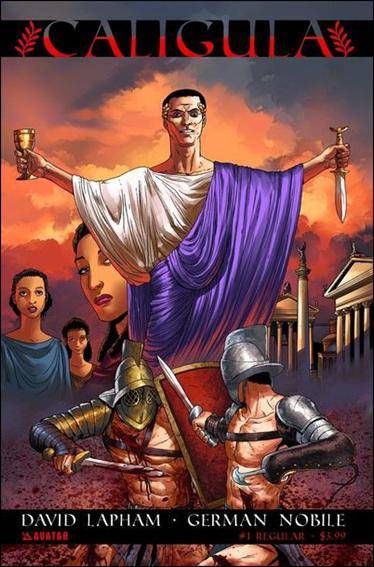 Caligula 1-A by Avatar Press