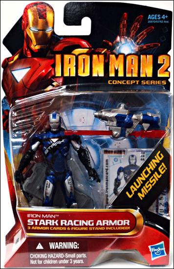 Iron Man 2 Iron Man - Stark Racing Armor (Concept Series) by Hasbro