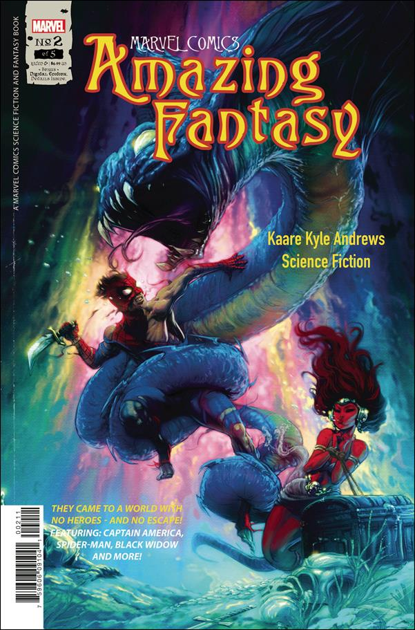 Amazing Fantasy (2021) 2-A by Marvel