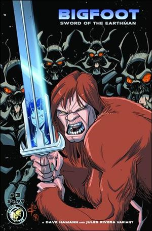 Bigfoot: Sword of the Earthman (2015) 3-B