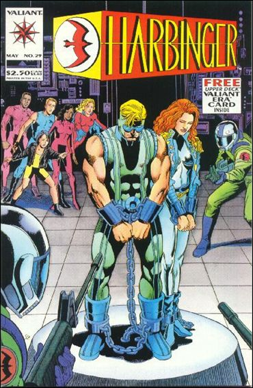 Harbinger (1992) 29-A by Valiant