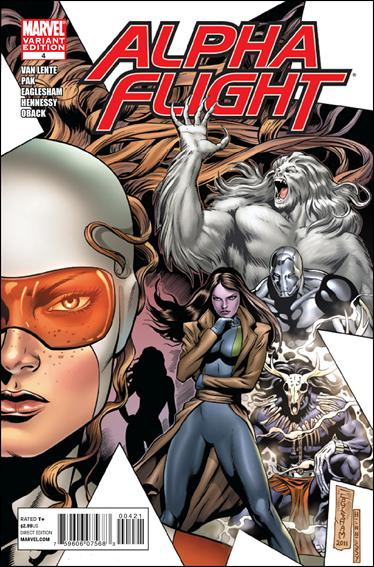 Alpha Flight (2011) 4-B by Marvel