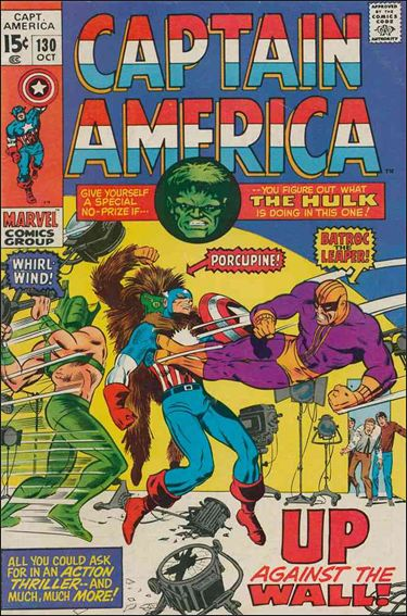 Captain America (1968) 130-A by Marvel