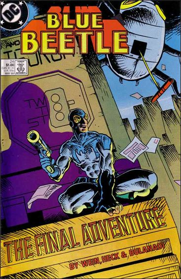 Blue Beetle (1986) 24-A by DC