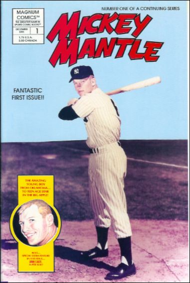 Mickey Mantle 1-A by Magnum